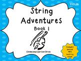 String Adventures Violin Book - A Unique Beginner String M
