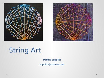 String Art: Art Meets Math