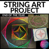 String Art Math Project End of the Year Activity