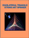 """Triangle String Art """"Spinner"""""""