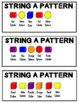 String Beads and Snap Cube Patterns