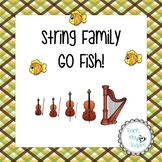 Music Go Fish/matching - String Family