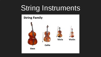 String Family Powerpoint