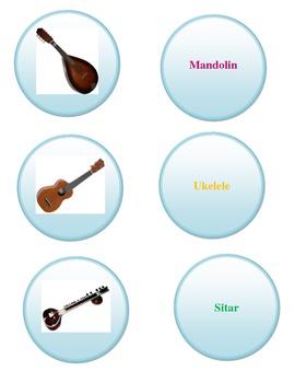 String Instrument Family Game