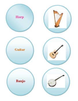 String Instrument Family Game