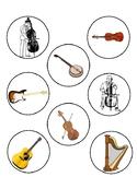 String Instrument Matching Game