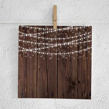 String Lights Digital Paper, Lights On Wood, Fairy Lights Backgrounds