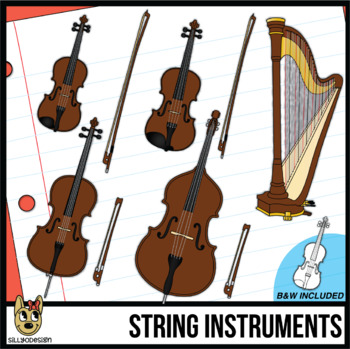 String Musical Instrument Clip Art