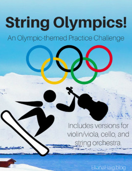 String Olympics!: An Olympics-themed Practice Challenge