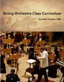 String Orchestra Class Curriculum - Beginning Orchestra an