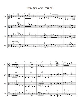 String Orchestra Tuning Song