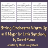 String Orchestra Warm Up in G Major for Little Symphony by