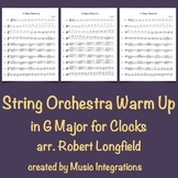 String Orchestra Warm Up in G Major for Clocks arr. Robert