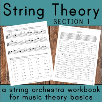 String Theory - Music Theory Basics for the String Orchestra Classroom