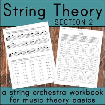 String Theory Section 2 - Music Theory Basics for the String Orchestra Classroom