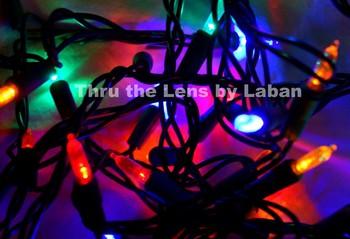 String of Christmas Lights Stock Photo # 232