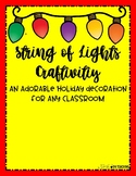 String of Lights Names- Classroom Decoration