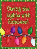 String the Lights with Numbers! {An Addition and Subtraction Activity}