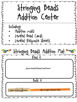 Stringing Bead Addition Center
