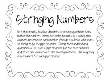 Stringing Numbers