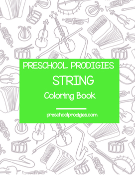 String Coloring Book