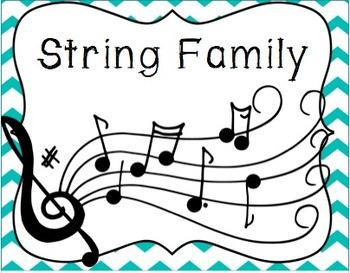 Strings Family Cascading Flip Book