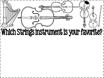 Strings Family - Instrument Flipbook