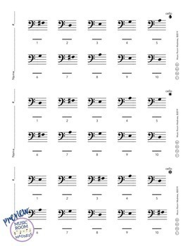 Beginning String Orchestra Letter Note Name Ticket Worksheet - A String