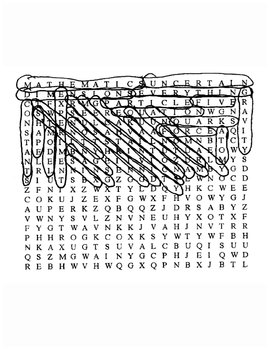 String's the Thing Word Search with Keys