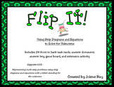 Strip Diagram Flip It: 4th Grade Math TEKS 4.5A