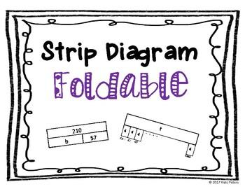 Strip Diagram Foldable