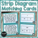 Strip Diagram Matching Cards