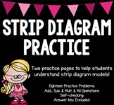 MATH TEST PREP: Strip Diagrams & Algebraic Equations