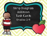 Strip Diagram Task Cards: Addition