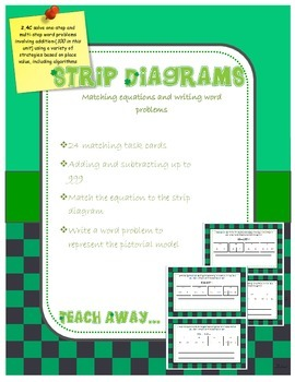Strip Diagrams: addition and subtraction