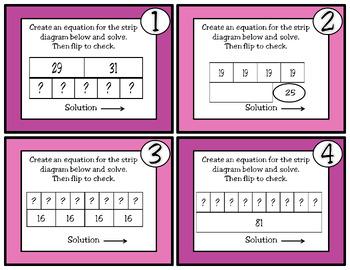 Strip Diagrams and Equations: TEKS 3.5B