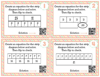 Strip Diagrams and Equations: TEKS 3.5B