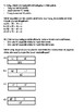Strip Diagrams and Equations Worksheets