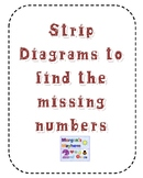 Strip Diagrams to Find Missing Numbers **UPDATED