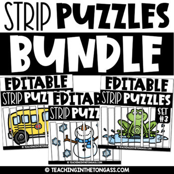 Math Puzzles | Editable Number Puzzles for the Whole Year