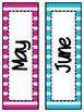Stripe Bundle (lunch, calendar, subject pennants, word wal