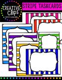 Stripe Task Cards {Creative Clips Digital Clipart}