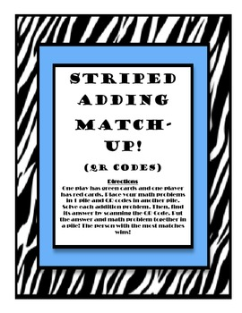 Striped Adding with QR Codes