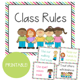 Striped Border Positive Class Rules & Expectations: Build