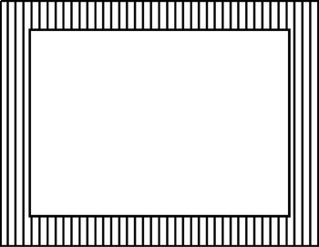 Striped Digital Frames