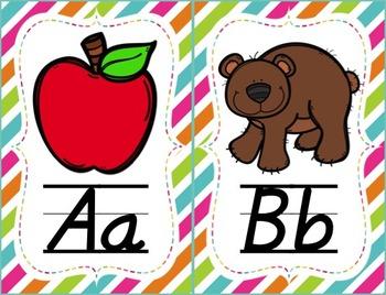 Alphabet Poster Pack