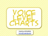 Striped Classroom Volume Level Poster
