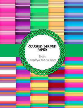 Striped  Colored Backgrounds ~ 10 png images