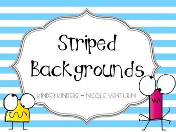 Striped Colored Backgrounds