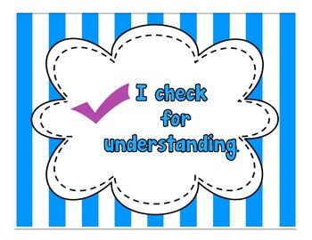 Striped Comprehension Strategies